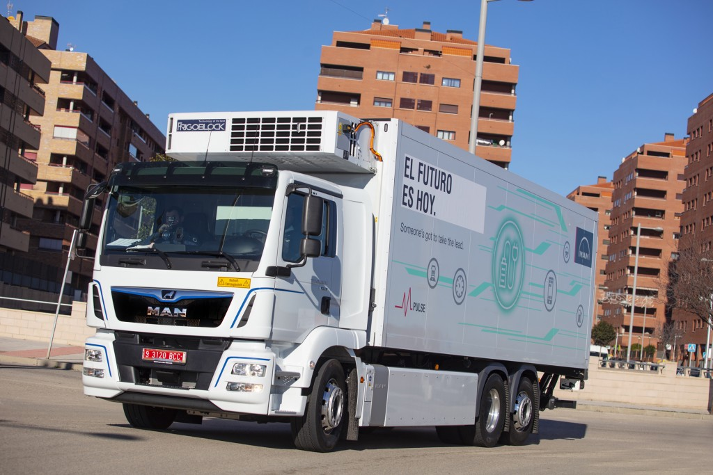 Acotral inicia las pruebas del camión TGM eléctrico de MAN